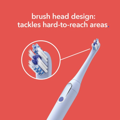 Colgate Hum Replacement Toothbrush Heads Perspective: left