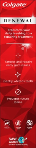 Colgate® Renewal Gum Revitalize Toothpaste Perspective: left