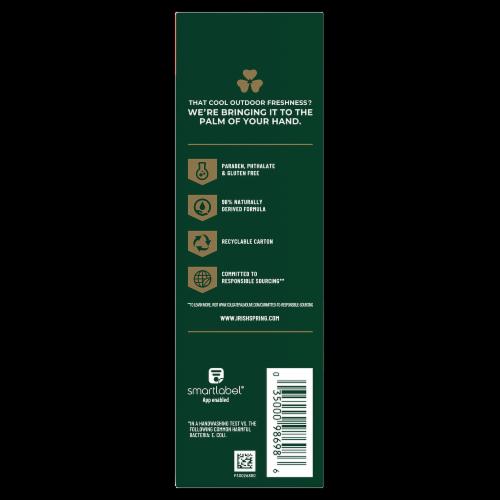 Irish Spring Sport Strength Antibacterial Bar Soap Perspective: left