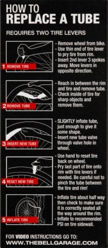 Bell® Standard Schrader Valve Tube Perspective: left