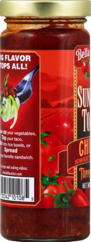 Bella Sun Luci Chipotle Topper & Sauce Perspective: left