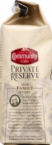 Community Coffee Private Reserve Evangeline Blend Dark Roast Ground Coffee Perspective: left