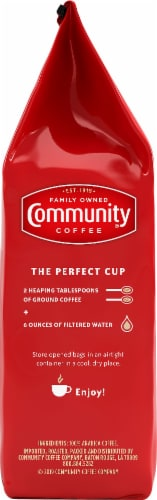 Community Coffee Cafe Special Medium-Dark Roast Ground Coffee Perspective: left