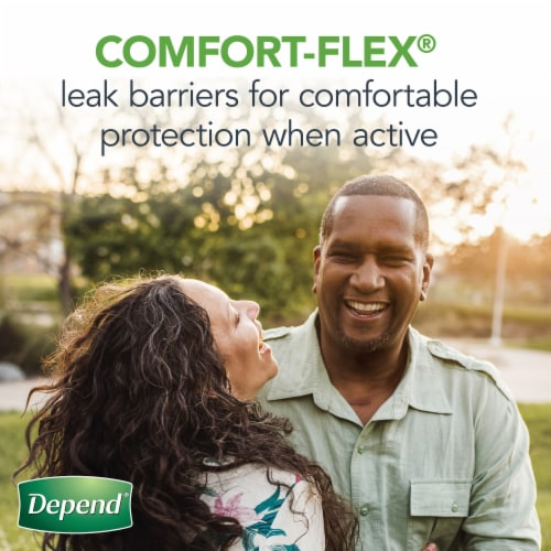 Depend Maximum Absorbency Incontinence Guards for Men Perspective: left