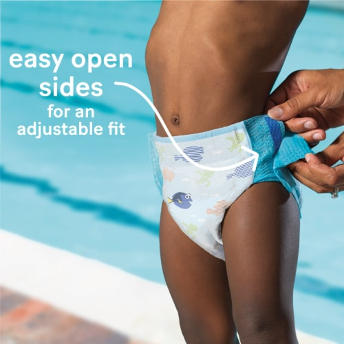 Huggies Little Swimmers Size 3 Swim Diapers Perspective: left