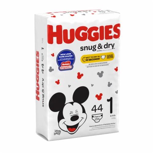 Huggies Snug & Dry Diapers Size 1 Perspective: left