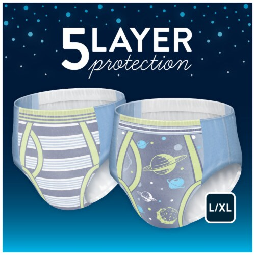 Goodnites Bedwetting Underwear for Boys L/XL Perspective: left