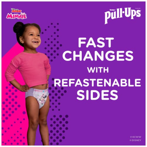 Pull-Ups Learning Designs Girls 3T-4T Training Pants Perspective: left
