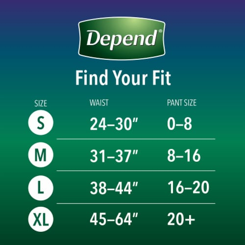 Depend® Night Defense Large Underwear for Women Perspective: left