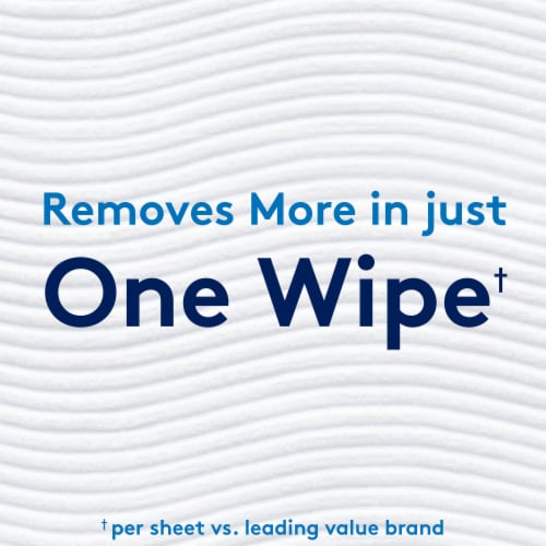 Cottonelle Ultra CleanCare Mega Roll Toilet Paper Perspective: left