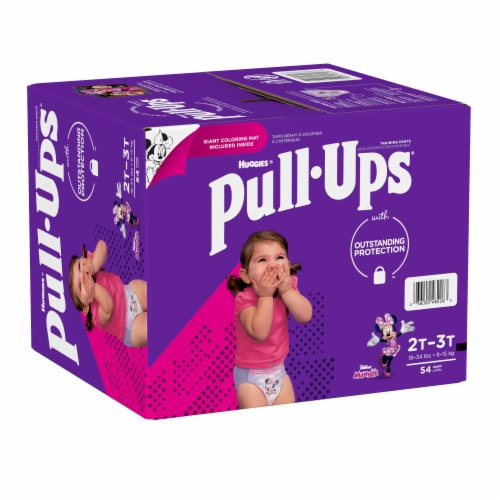 Pull-Ups Learning Designs Girls' Training Pants 2T-3T Perspective: left