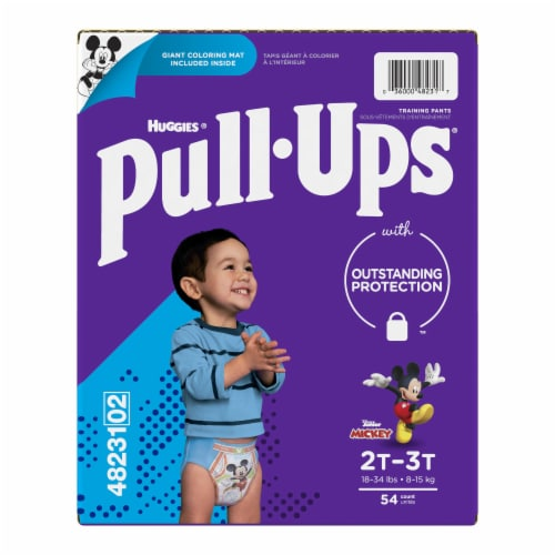 Pull-Ups Learning Designs Boys' Training Pants 2T-3T Perspective: left