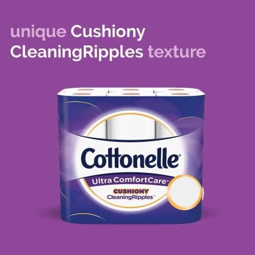Cottonelle Ultra ComfortCare Mega Roll Toilet Paper Perspective: left