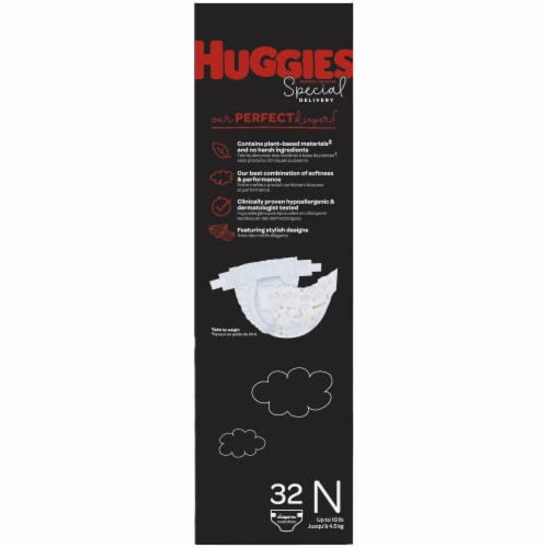 Huggies Special Delivery Newborn Baby Diapers Perspective: left