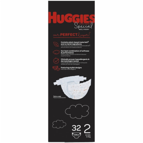 Huggies Special Delivery Size 2 Diapers Perspective: left