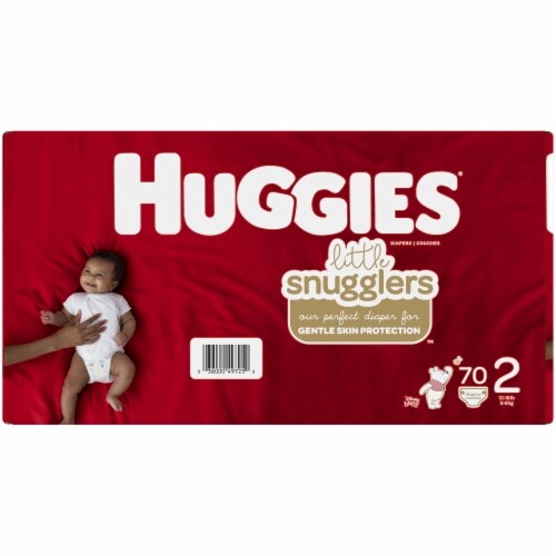 Huggies Little Snugglers Size 2 Diapers Perspective: left