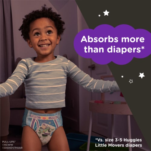 Pull-Ups Night-Time Boys' Training Pants 3T-4T Perspective: left