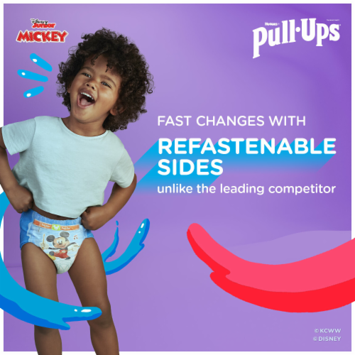 Pull-Ups Learning Designs 3T-4T Boys' Training Pants Perspective: left