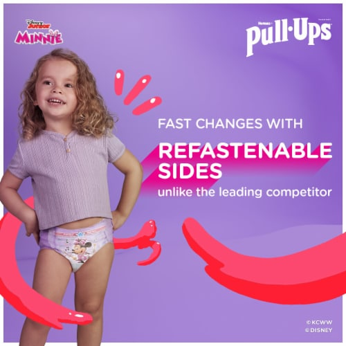 Pull-Ups Learning Designs 4T-5T Girls' Training Pants Perspective: left