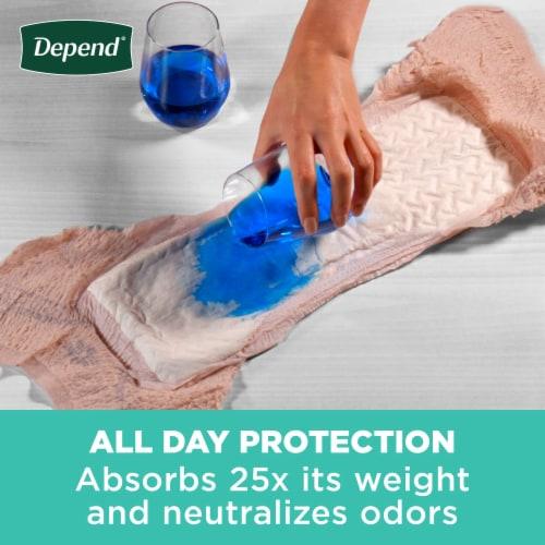 Depend Fit-Flex Maximum Absorbency Medium Women's Incontinence Underwear Perspective: left