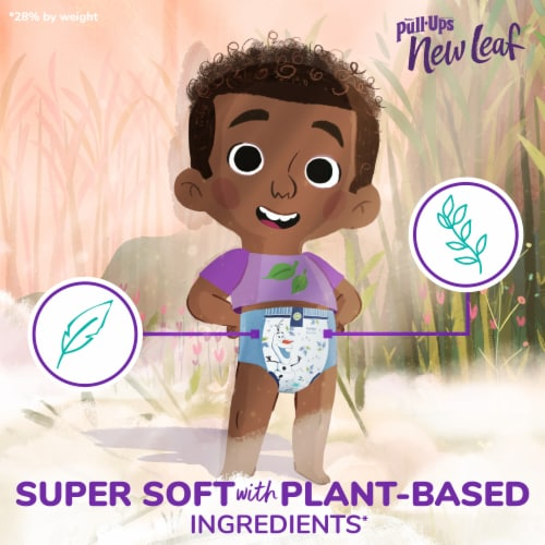 Pull-Ups New Leaf Boys Size 3T-4T Training Pants Perspective: left