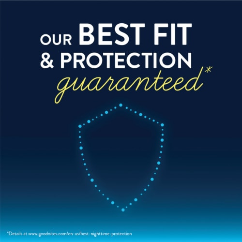 GoodNites Youth Size Large Boy's Nighttime Underwear Perspective: left