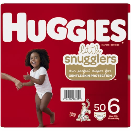 Huggies Little Snugglers Size 6 Diapers Perspective: left