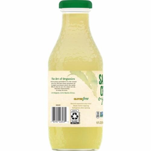 Santa Cruz Organic Lemonade Perspective: left