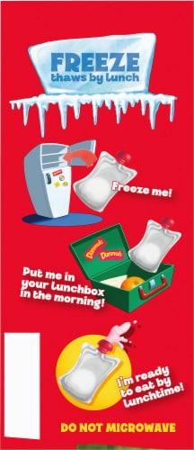 Danimals Strawberry Lowfat Yogurt Pouches Perspective: left