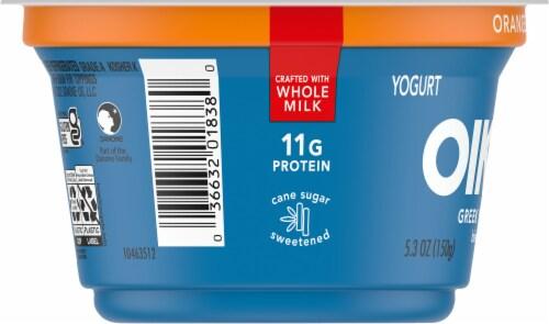 Oikos Orange Cream Yogurt Perspective: left