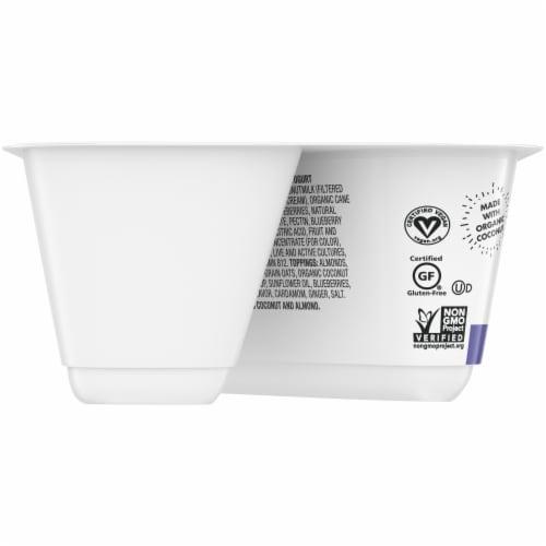 SO Delicious piced Blueberry Coconutmilk Yogurt Alternative Perspective: left