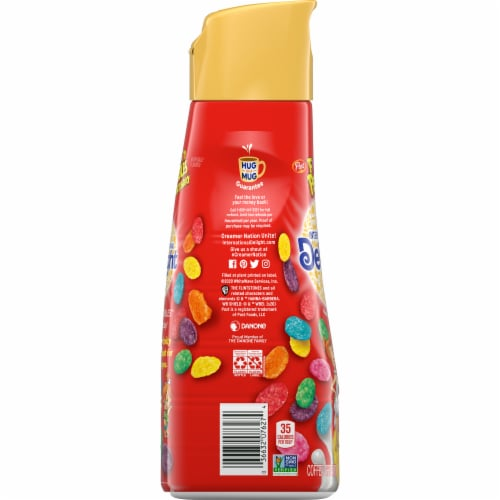 International Delight Fruity Pebbles Coffee Creamer Perspective: left