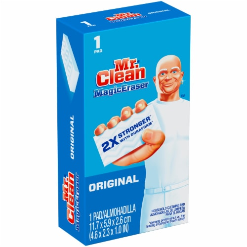 Mr. Clean Magic Eraser Original Household Cleaning Pad Perspective: left