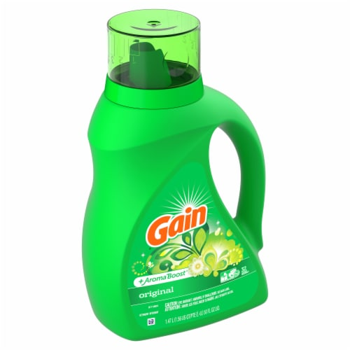 Gain Aroma Boost Original Liquid Laundry Detergent Perspective: left