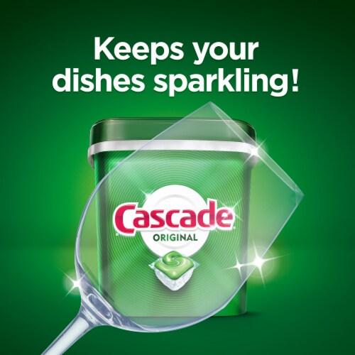 Cascade Dishwasher Detergent ActionPacs Fresh Scent Perspective: left