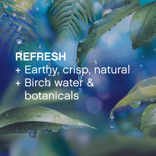 Downy® Infusions Refresh Birch Water & Botanicals Liquid Fabric Conditioner Perspective: left