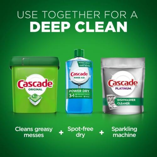 Cascade® Original Fresh Scent Dishwasher Detergent Actionpacs Perspective: left