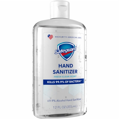 Safeguard Hand Sanitizer Perspective: left