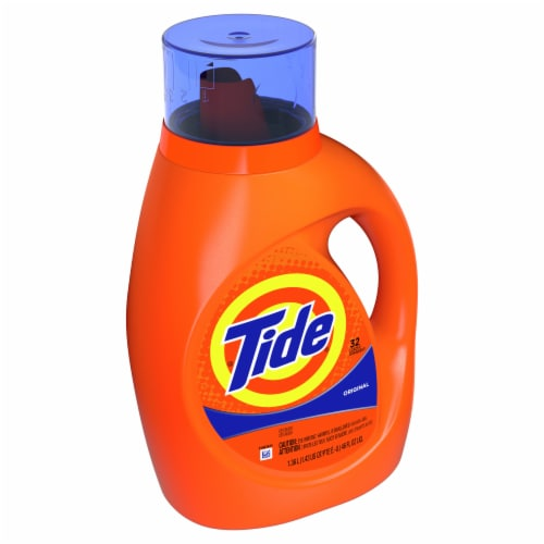 Tide Original Liquid Laundry Detergent Perspective: left