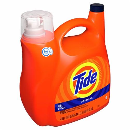 Tide Original Liquid Laundry Detergent Perspective: left