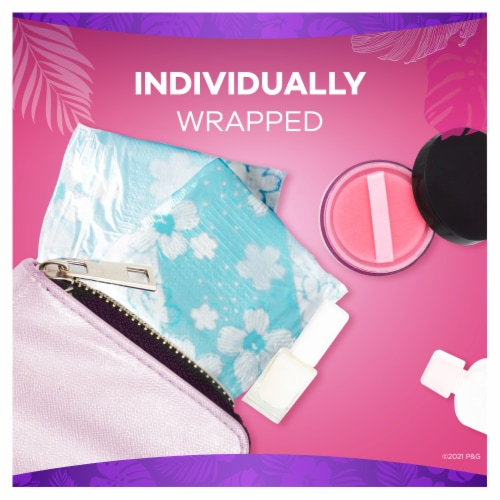 Always Thin Clean Scent Regular Daily Liners Perspective: left