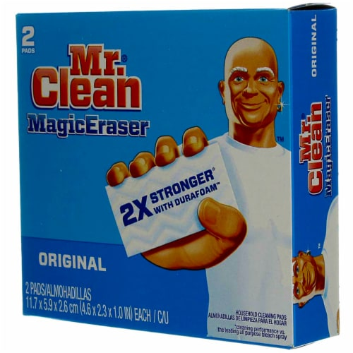 Mr. Clean Magic Eraser Original Household Cleaning Pads Perspective: left