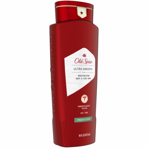 Old Spice Fresh Start Moisturizing Body & Face Wash Perspective: left