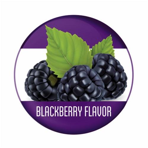 Stressballs De-Stress + Snooze Blackberry Flavor Lavender Melatonin Gummies Perspective: left