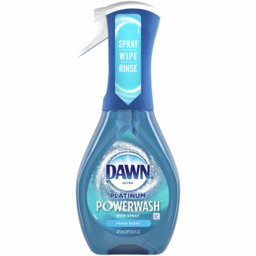 Dawn Powerwash Hand Dishwashing Liquid Fresh Scent Dish Spray Perspective: left