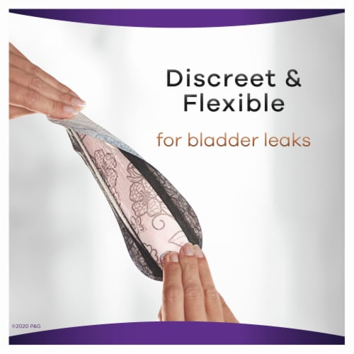 Always Discreet Boutique Size 2 Very Light Long Liners Perspective: left