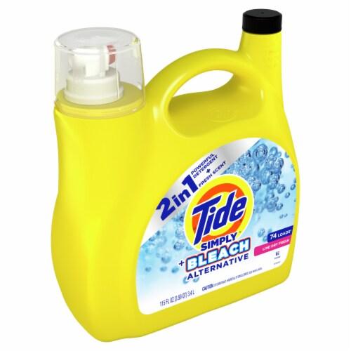 Tide Simply + Bleach Alternative Line Dry Scent Liquid Laundry Detergent Perspective: left