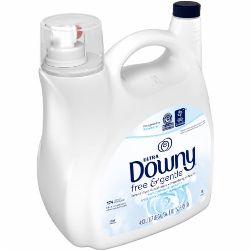 Downy Ultra Free & Gentle Fabric Conditioner Perspective: left