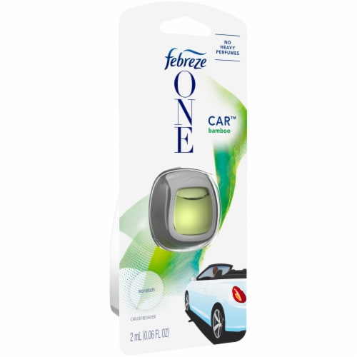 Febreze One Car™ Air Freshener Vent Clip - Bamboo Perspective: left