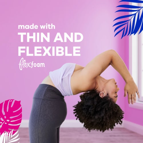 Always Radiant FlexFoam Size 3 Scented Extra Heavy Absorbency Pads Perspective: left